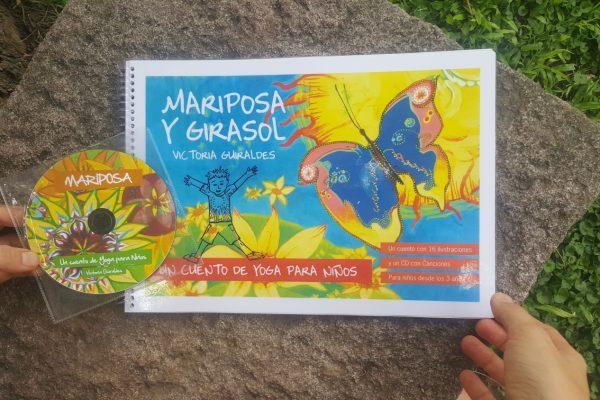 Libro Mariposa y Girasol